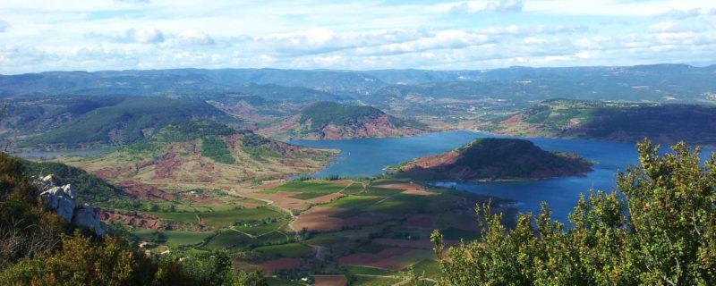 lac salagou