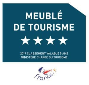 Logo meublé tourisme 4 étoiles 2019